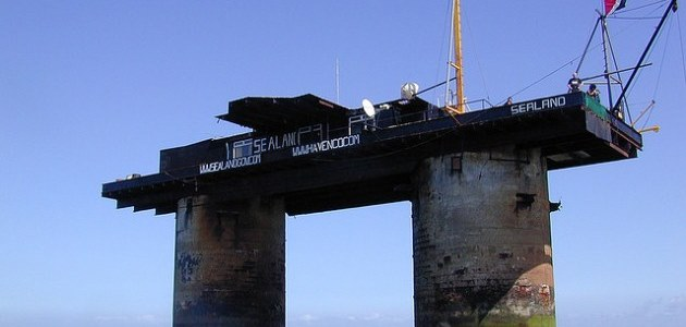 Sealand: The world's smallest nation (well, maybe!)