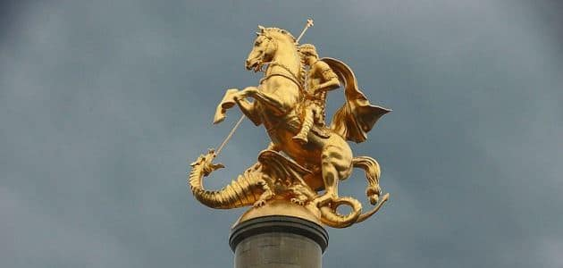Saint George: The Greek patron saint of England (who came from Turkey)