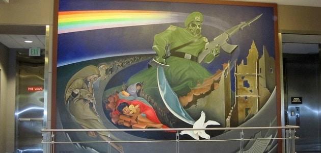 The weird art of Denver International Airport