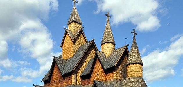 Heddal stave church: Norway's biggest wooden church