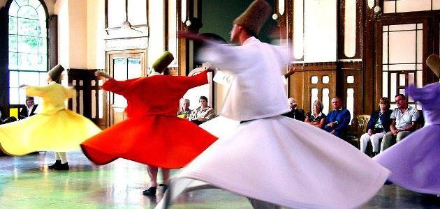 Sufi whirling | Strange dances from around the world