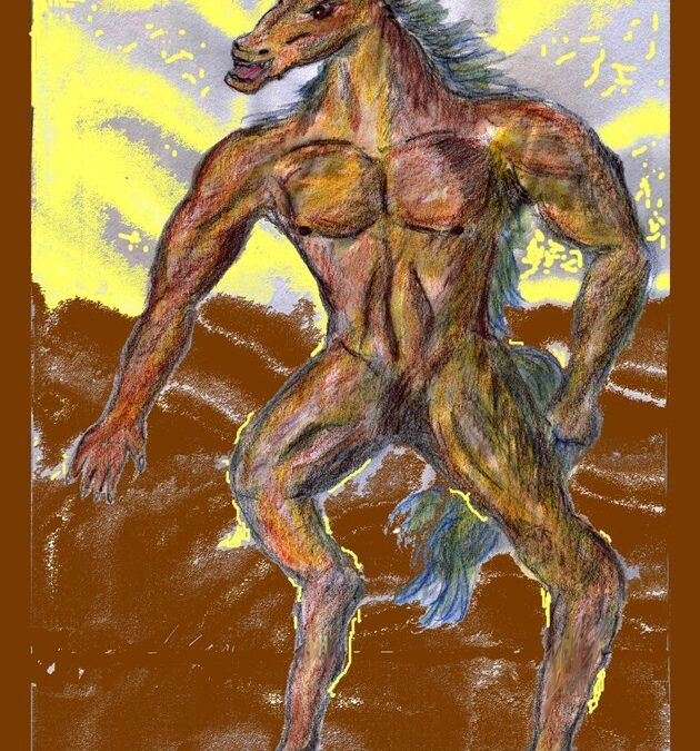 Tikbalang: A mythical demon horse from the Philippines