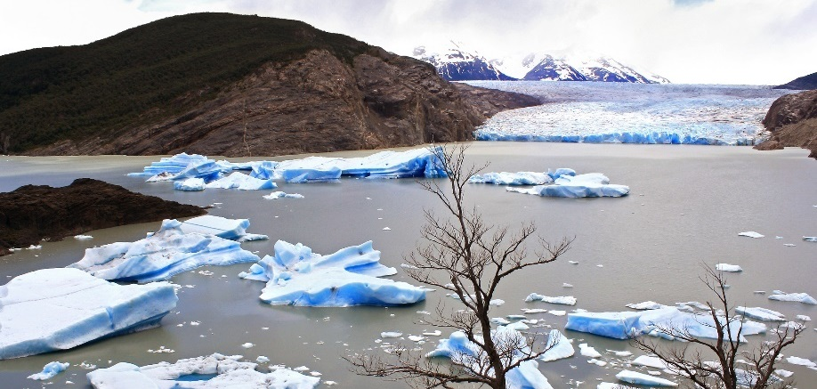 The Chilean lake that disappeared without a trace
