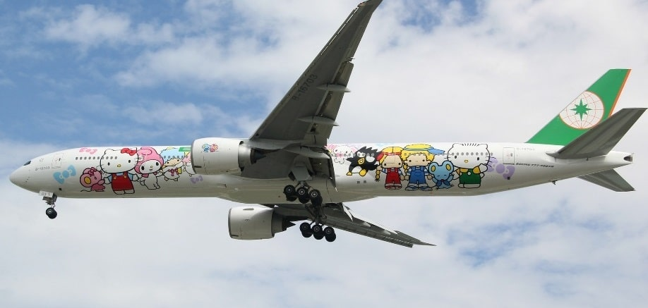 The Taiwanese airline that lets you fly Hello Kitty