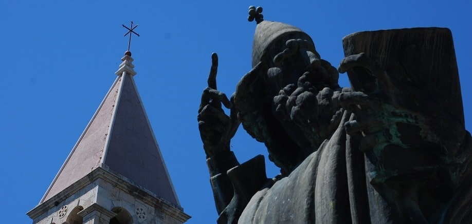 Gregory of Nin: The Croatian statue with a lucky big toe