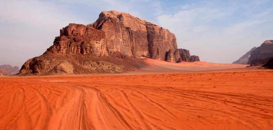 Wadi Rum: A little piece of Mars on Earth