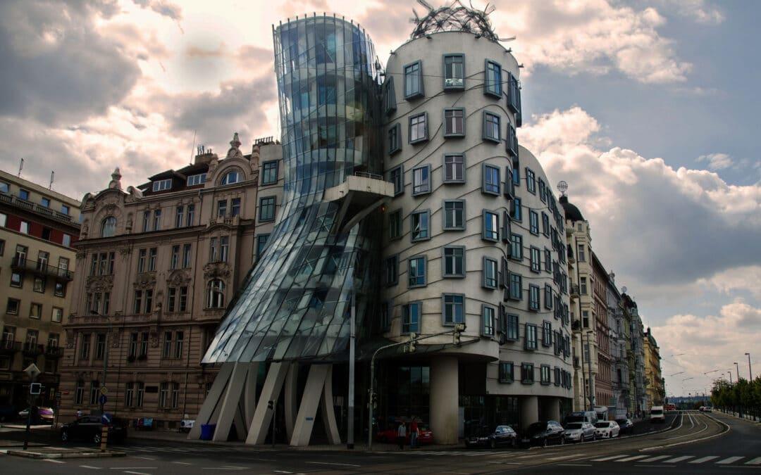 The Dancing House: Prague's wonkiest building